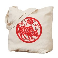 Zodiac, Year of the Ox Tote Bag