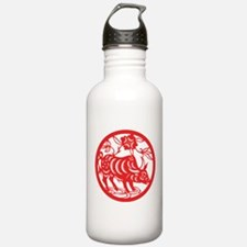 Zodiac, Year of the Ox Water Bottle