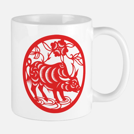 Zodiac, Year of the Ox Mugs