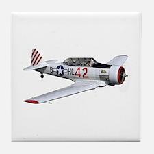 T-6 Texan Trainer Tile Coaster