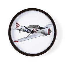T-6 Texan Trainer Wall Clock