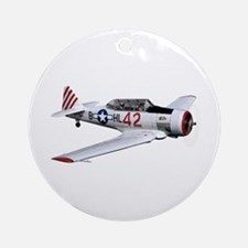 T-6 Texan Trainer Ornament (Round)
