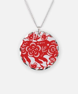 Zodiac, Year of the Pig Necklace