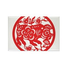 Zodiac, Year of the Pig Magnets