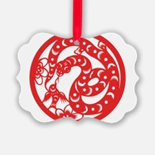 Zodiac, Year of the Snake Ornament