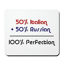 Italian & Russian Mousepad
