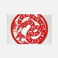 Zodiac, Year of the Snake Magnets