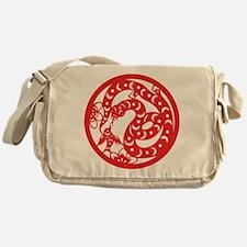 Zodiac, Year of the Snake Messenger Bag
