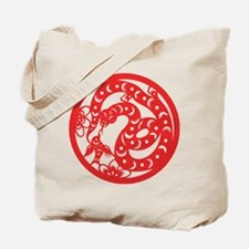 Zodiac, Year of the Snake Tote Bag