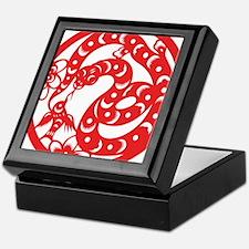 Zodiac, Year of the Snake Keepsake Box