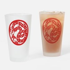 Zodiac, Year of the Snake Drinking Glass