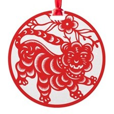 Zodiac, Year of the Tiger Ornament