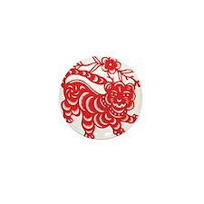 Zodiac, Year of the Tiger Mini Button