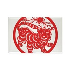 Zodiac, Year of the Tiger Magnets