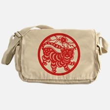 Zodiac, Year of the Tiger Messenger Bag