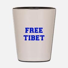 FREE-TIBET-FRESH-BLUE Shot Glass