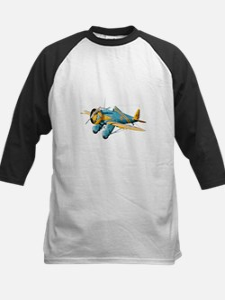 P-26 Peashooter Fighter Kids Baseball Jersey