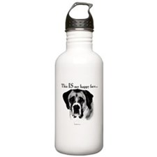 Saint Bernard Happy Face Water Bottle