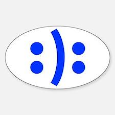 BIPOLAR-SMILEY-fut-blue Decal