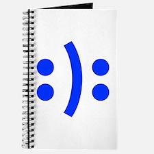 BIPOLAR-SMILEY-fut-blue Journal