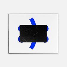 BIPOLAR-SMILEY-fut-blue Picture Frame