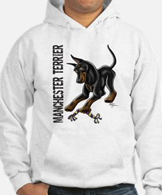 Manchester Terrier - Cropped Hoodie