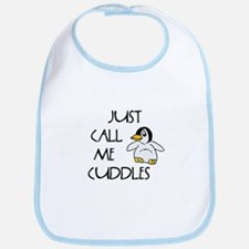 Just Call Me Cuddles Bib