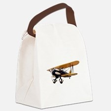 P-6 Hawk Biplane Aircraft Canvas Lunch Bag