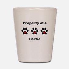 Property Of A Portie Shot Glass