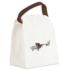 Observation Aircraft Canvas Lunch Bag