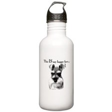 Schnauzer Happy Face Water Bottle