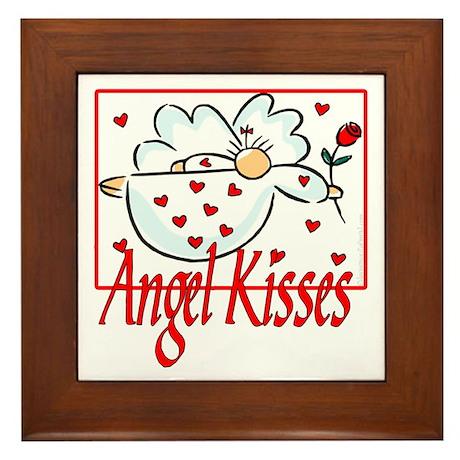 Angel Kisses Framed Tile