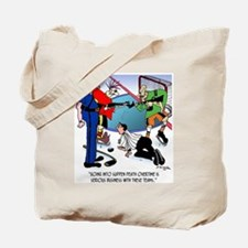 Sudden Death Overtime Tote Bag