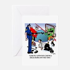 Sudden Death Overtime Greeting Card