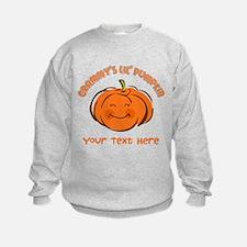 Grammy's Little Pumpkin Personalized Sweatshirt