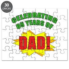 Celebrating Dad's 65th Birthday Puzzle