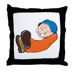 Rancho-Relaxo Simon Throw Pillow