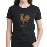 Chinese new year rooster Women's Dark T-Shirt