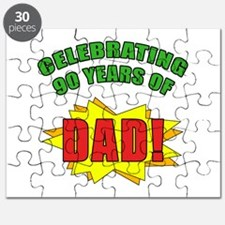 Celebrating Dad's 90th Birthday Puzzle