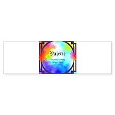 Valerie Bumper Bumper Sticker
