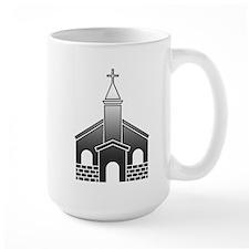 Church, Cross, Christian Mugs