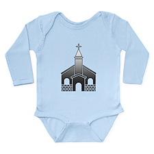 Church, Cross, Christian Body Suit