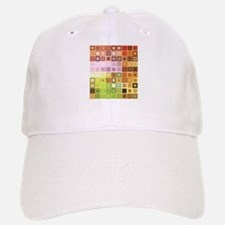 Art, Colorful, Vintage Baseball Baseball Baseball Cap