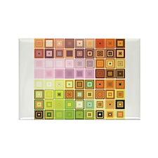 Art, Colorful, Vintage Magnets