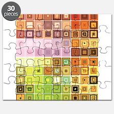 Art, Colorful, Vintage Puzzle