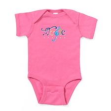 Cute Christian music Baby Bodysuit