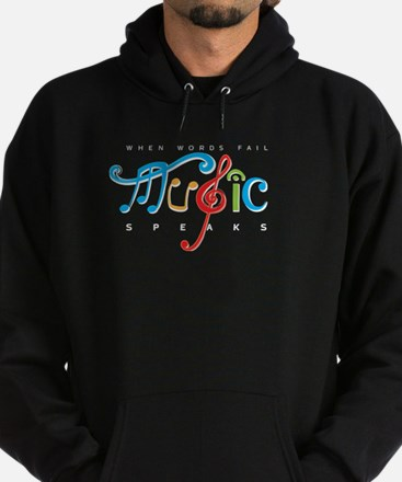 Cute Christian music Hoodie (dark)