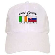 Irish-Slovakian Baseball Cap