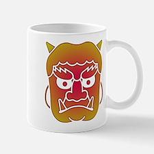 Demon, Mask, Oni Mugs