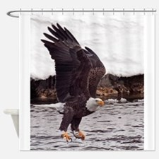 MAGNIFICENT BALD EAGLE Shower Curtain